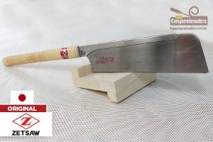 Serrote Japonês Dozuki ZetSaw Cross Cut Super Fino Lâmina Larga - 240mm