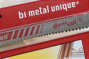 Lâmina de Serra Tico-Tico Bi-Metal Unique™ Starrett com encaixe Unificado™ Dual-Cut - Blister com 2 unid. - BU3DC-2
