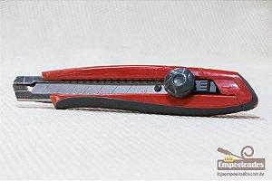 Estilete Starrett 18mm Exact - Trava tipo Parafuso
