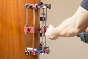 Gabarito para Instalação de Fechaduras de Porta GF100 - LCM