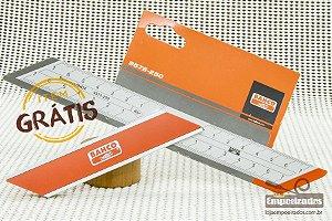 Kit Esquadro Marceneiro Bahco - 3 tamanhos + Esquadro 145° Grátis
