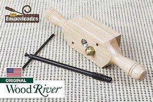 "Gabarito de Rosca em Madeira Cossinete 1/2"" x 8 DPP - Woodriver [Woodthreading Kit]"