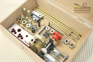 Gabarito Universal para MDF de 15, 18 e 25mm - Aluzini Ferramentas