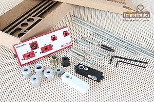 Gabarito Bloco Flauta MDF 15, 18 e 25mm - Aluzini Ferramentas