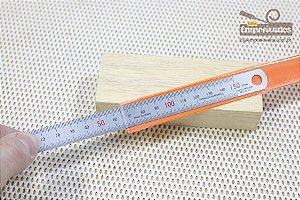 Escala ou Régua de Aço Inoxidável Matsui - 150mm / 15cm