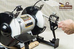 Kit Completo de Acessório e Gabarito para Moto-Esmeril para afiar Goivas e Formões - Manrod MR-032.50GRIND