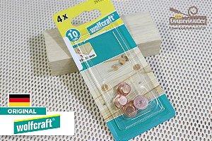 Marcadores para Cavilhar de 10mm - 4 peças  2913 - Wolfcraft