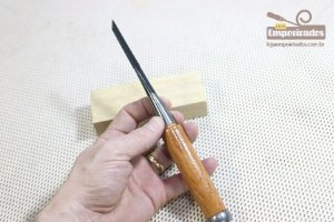 Formão Japonês para Madeira TopMan Chisel - 3mm