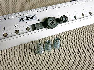 Gabarito de Furação Wolfcraft - 4650