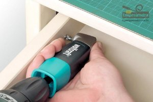 Adaptador Angular e Mini-Chave Manual de Parafusar com Bits | 100100 - Wolfcraft