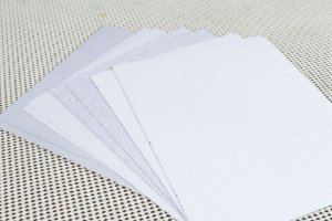 Kit de lixas Horse para madeira - Desbaste Leve - #100/#150/#220/#320 - 8 folhas