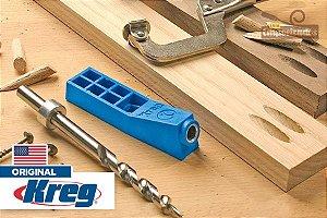 Gabarito de Furação Pocket Hole Jig - Kreg Jig Mini