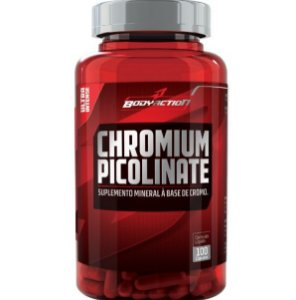 Chromium Picolinate (100 caps) - BodyAction - VENC (10/18)
