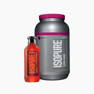 Isopure Protein Powder (3lbs) Grátis Isopure Drink  - Nature's Best
