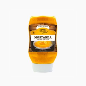 Molho Mostarda Zero (350g) - Keeppack Gourmet
