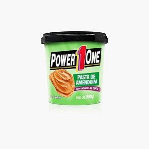 Pasta de Amendoim Com Açúcar de Coco (500g)  - Power One