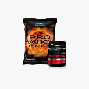Pro Whey (500g) + Creatina (100g) - Probiótica