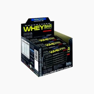 Whey Bar High Protein (24barras) 40g - Probiótica