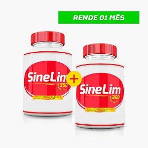 SineLim 360 - Emagrecedor Natural - (60caps) - Compre 1 LEVE 2