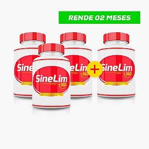 SineLim 360 Emagrecedor - (60caps) - Compre 3 LEVE 4