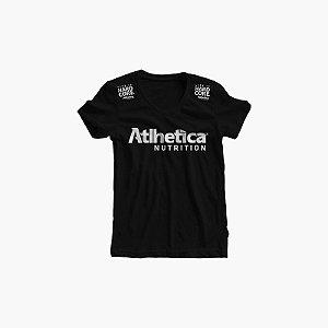 Camisa Baby Look Feminina- Atlhetica Nutrition