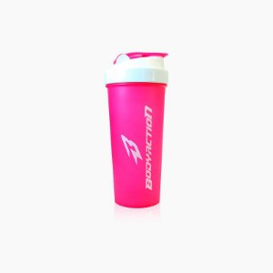 Coqueteleira Rosa (600ml) - Body Action