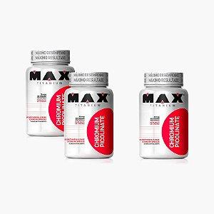 Chromium Picolinate (60 caps) (Compre 2 LEVE 3) - Max Titanium