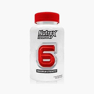 Nutrex 6 antigo Lipo 6 (120caps) - Nutrex (VENC.: 10/17)