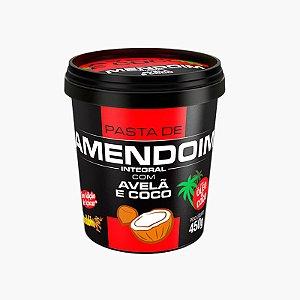 Pasta de Amendoim Avelã e Coco (450g) - Mandubim