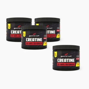 Creatina 20-Days Autonomy (Compre 3 LEVE 4)- Body Action
