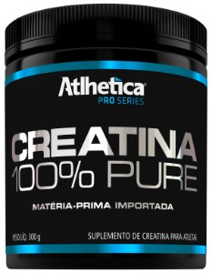 Creatina 100% pure  Pro Series (300g) - Atlhetica Nutrition
