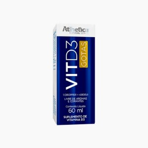 Vit D3 - Vitamina D - (60ml) - Atlhetica Clinical Series
