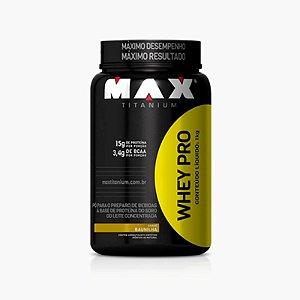 Whey Pro Max (1kg) - Max Titanium