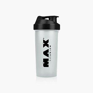 Coqueteleira Transparente (600ml) - Max Titanium