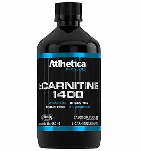 L-CARNITINE 1400 PRO 480 ml CHA VERDE