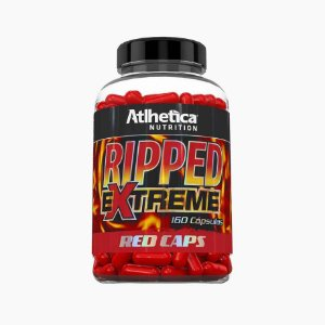 Ripped Extreme Red Caps (160caps) - Atlhetica Nutrition VENC (05/04/19)
