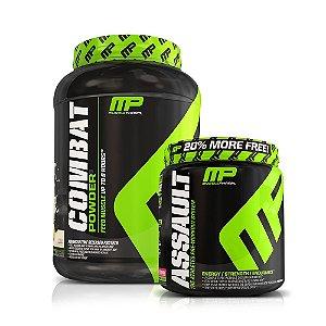 Combat (907g) + Assault (522g) - MusclePharm