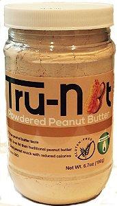 Pasta de Amendoim em pó (190g) - Tru-Nut