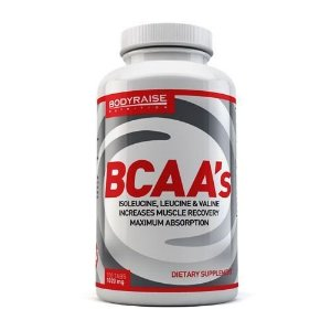 BCAA 1020 mg (100 CAPS) - BODYRAISE