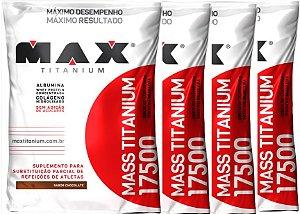 Combo 4x Mass Titanium 1,4kg - Max Titanium
