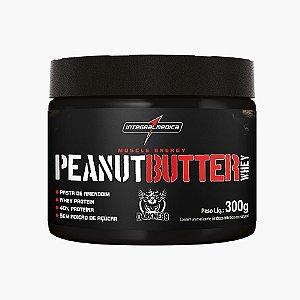 Peanut Butter Whey 300g  (Pasta de Amendoim) - Integral Médica
