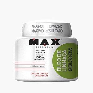 Óleo de Linhaça (100 caps) - Max Titanium