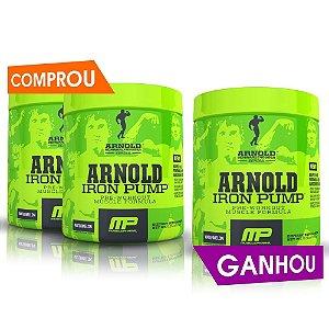 Arnold Iron Pump (180g) - Compre 2, LEVE 3!