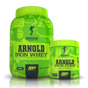Combo Iron Whey 907g + Iron Pump (180g/30 doses) - Arnold Series