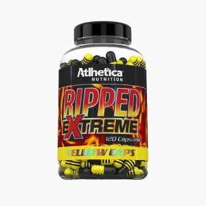 Ripped Extreme Yellow Caps (120 caps) - Atlhetica Nutrition