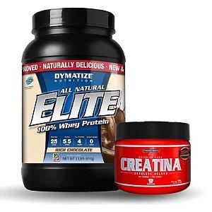 Elite Whey Protein (940g) + Creatina(150g) - Dymatize