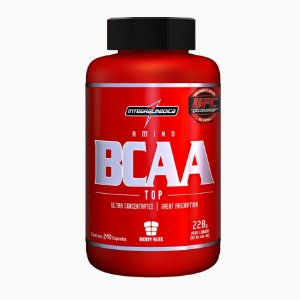 BCAA TOP (240caps) - Integral Médica