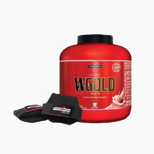 WGold - Whey Gold Isolate (2,3kg) + Grátis Protetor Palmar  - Integral Médica