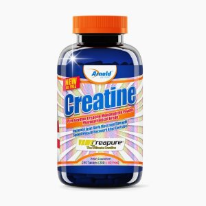 Creatina Creapure (240tabs) - Arnold Nutrition