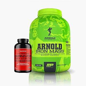 Iron Mass (2,270g) + Carnivor Beef Aminos (270caps) - Muscle Pharm